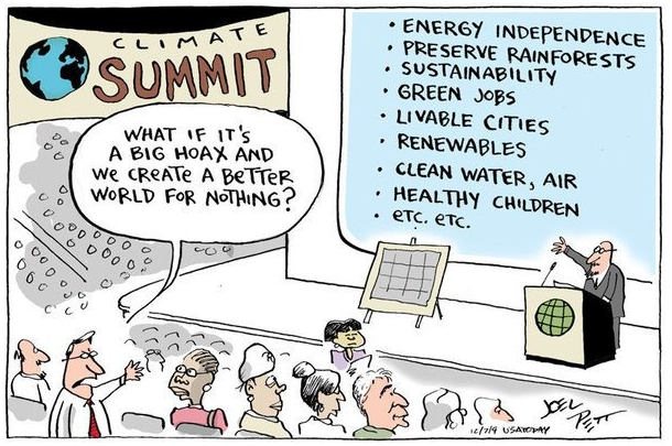 Cartoon - What if it's a big hoax